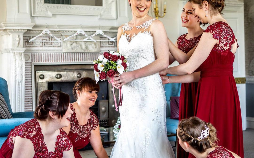 Sarah's Wedding at Buxted Park